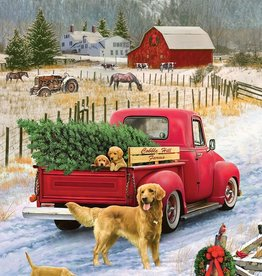 Cobble Hill Christmas on the Farm 1000pc