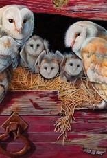 Cobble Hill Barn Owls 1000pc