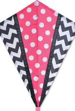 Premier Kites 25 IN. DIAMOND - PINK MOD