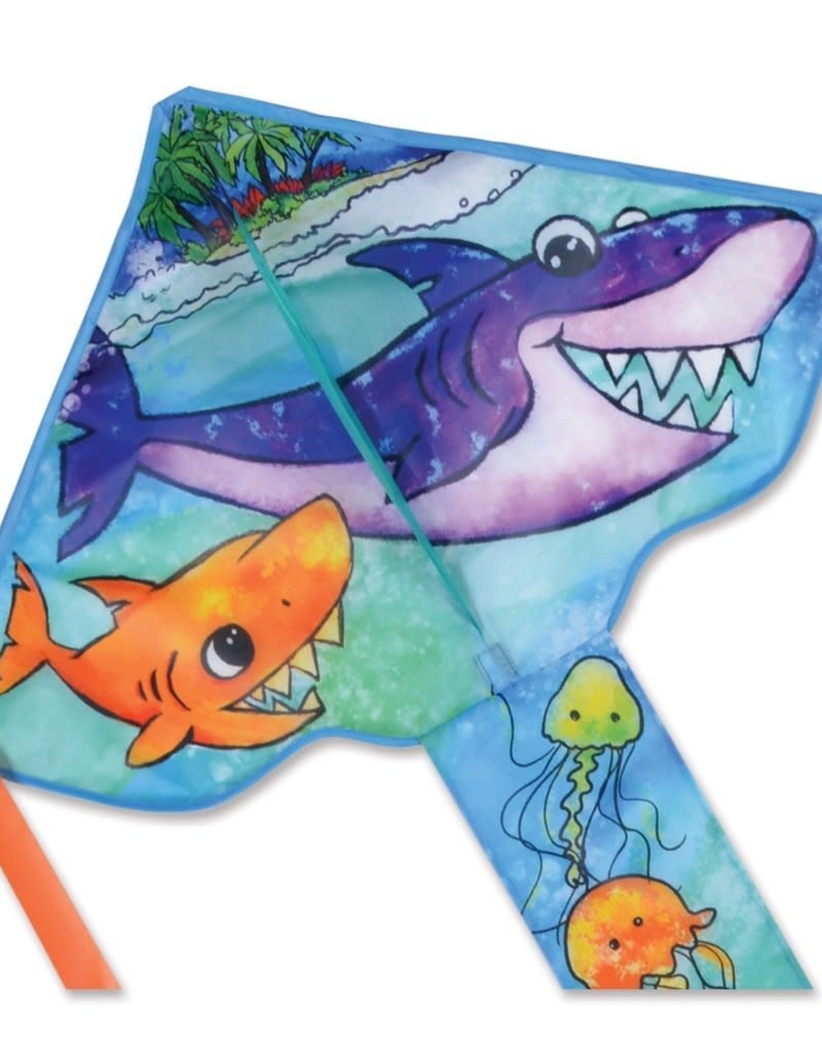 Premier Kites REG. EASY FLYER - SHARK FAMILY