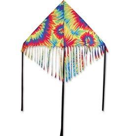 Premier Kites 48 IN. FRINGE DELTA - TIE DYE