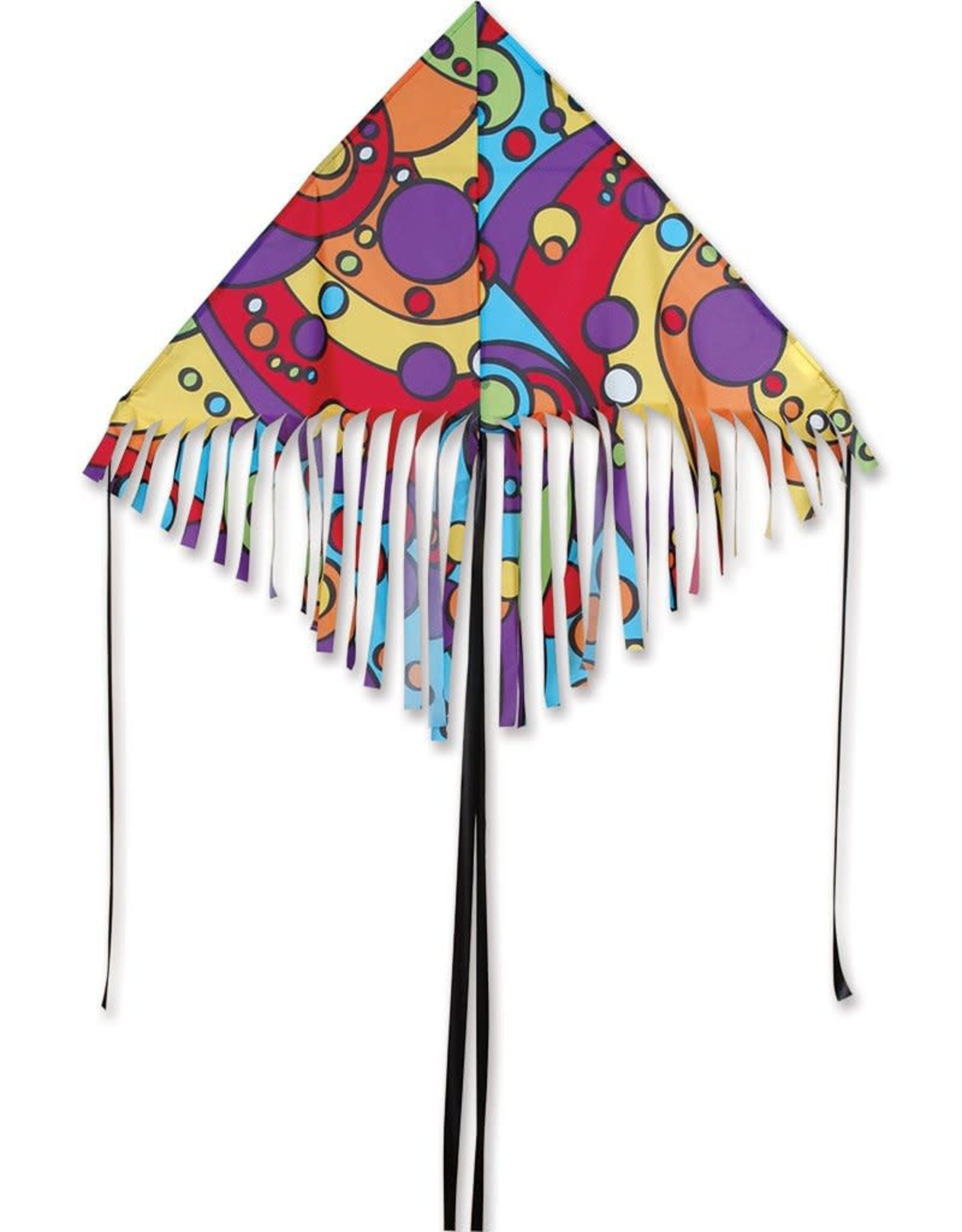 Premier Kites 48 IN. FRINGE DELTA - ORBIT