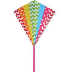 Premier Kites 30 IN. DIAMOND - HIP RAINBOW