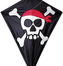 Premier Kites 25 IN. DIAMOND - SKULL & CROSS