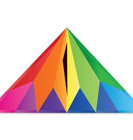 Premier Kites 56 IN. DELTA - RAINBOW PRISM