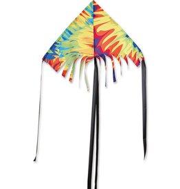Premier Kites 24 IN. FRINGE DELTA - TIE DYE