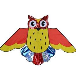 Premier Kites Holographic Owl Rainbow