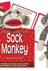 Peter Pauper Press Sock Monkey Rescue