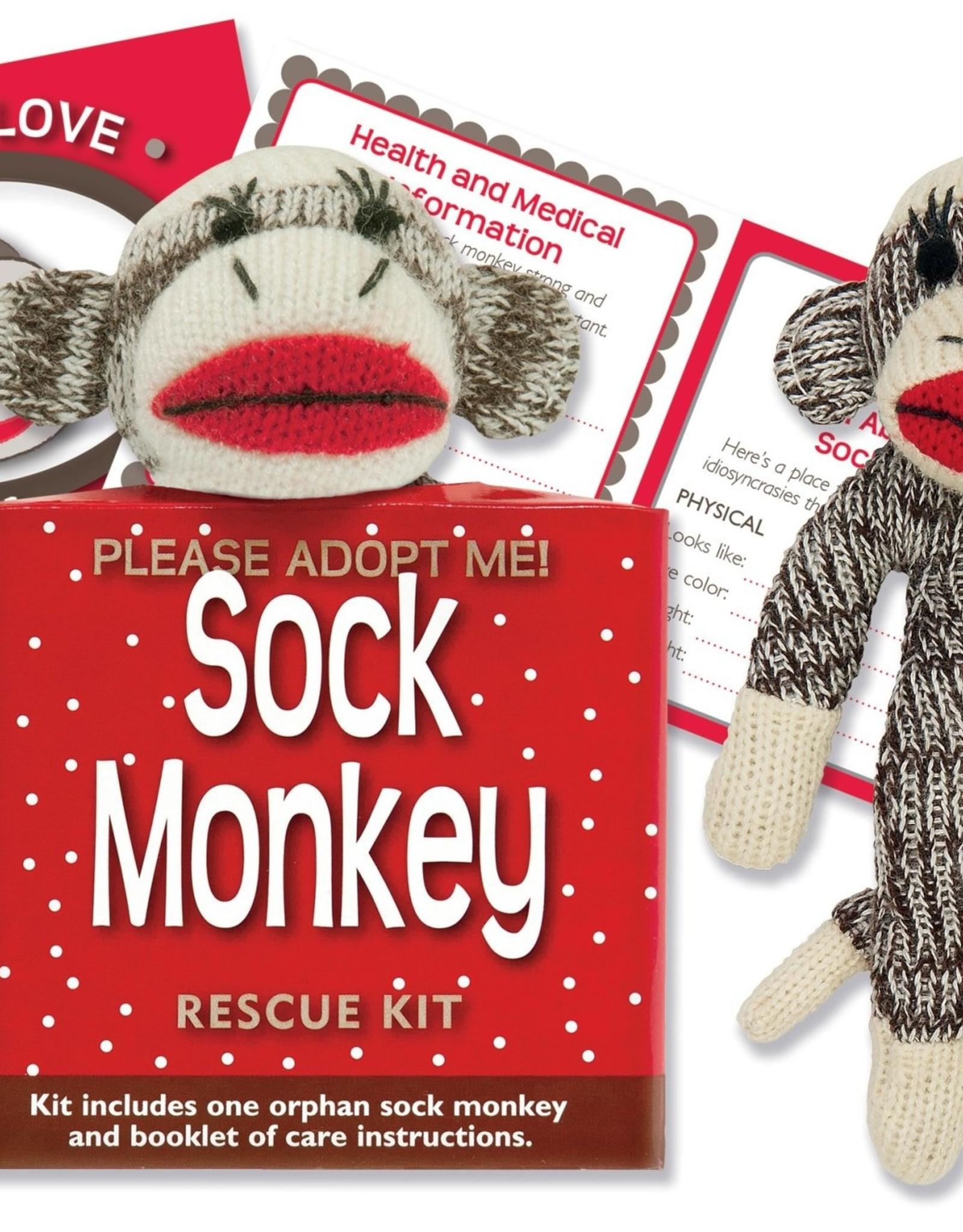 Peter Pauper Press Sock Monkey Rescue