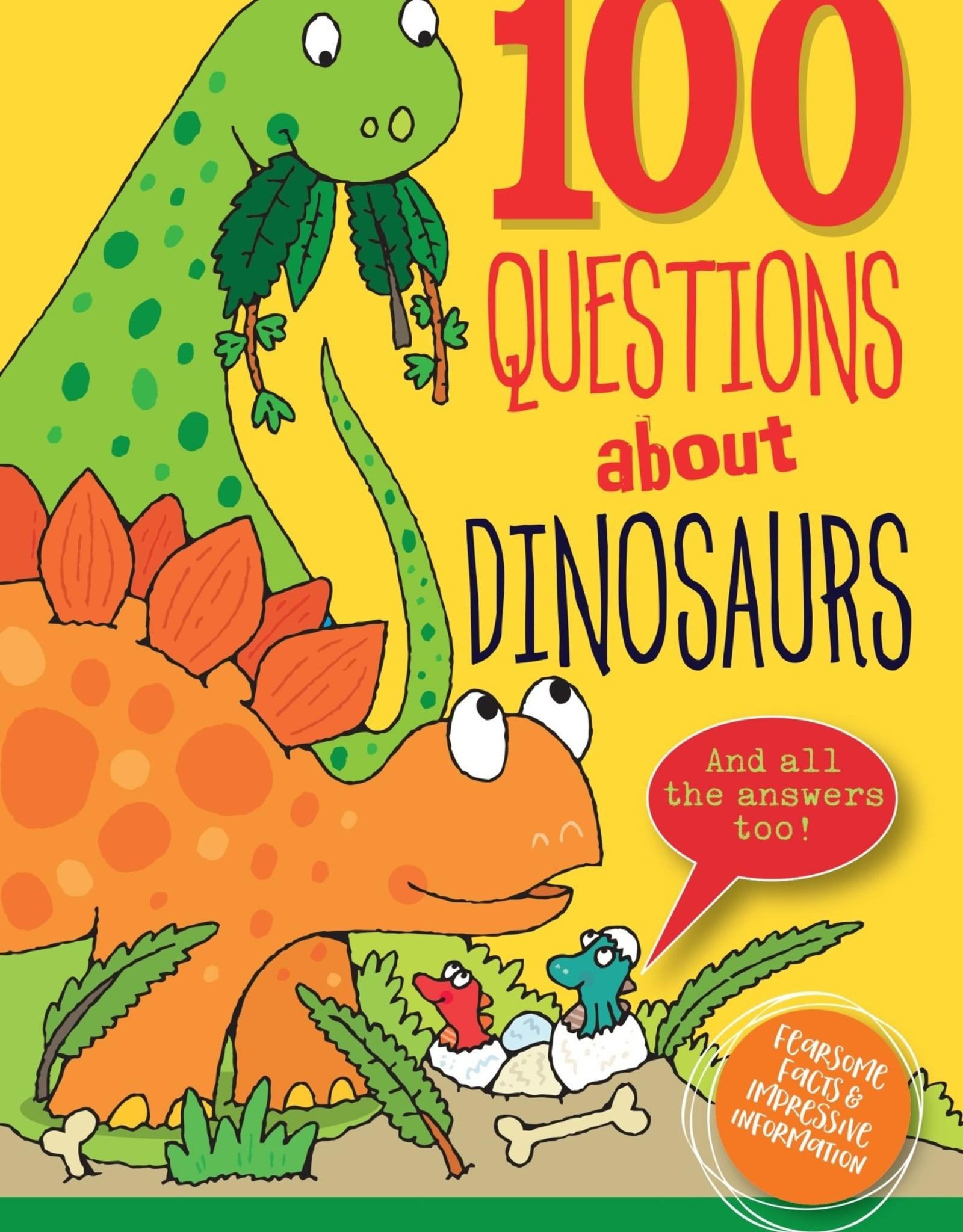Peter Pauper Press 100 QUESTIONS ABOUT DINOSAURS
