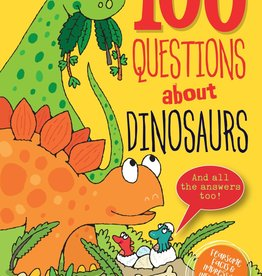 Peter Pauper Press 100 Questions About Dinosaurs