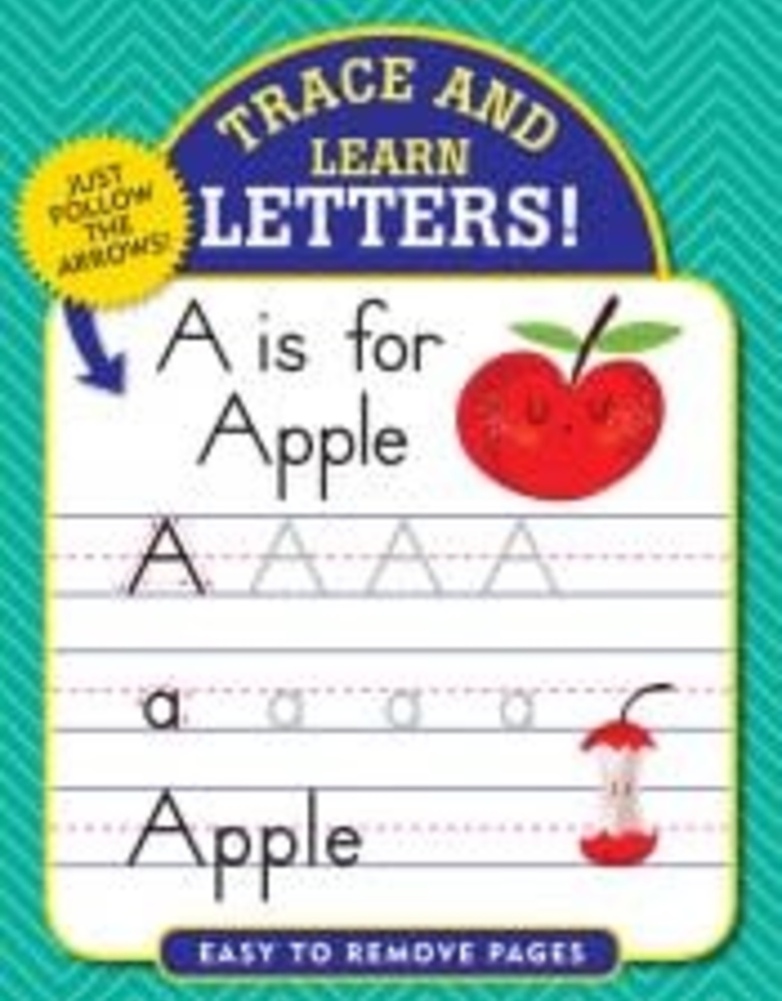 Peter Pauper Press TRACE & LEARN: LETTERS!
