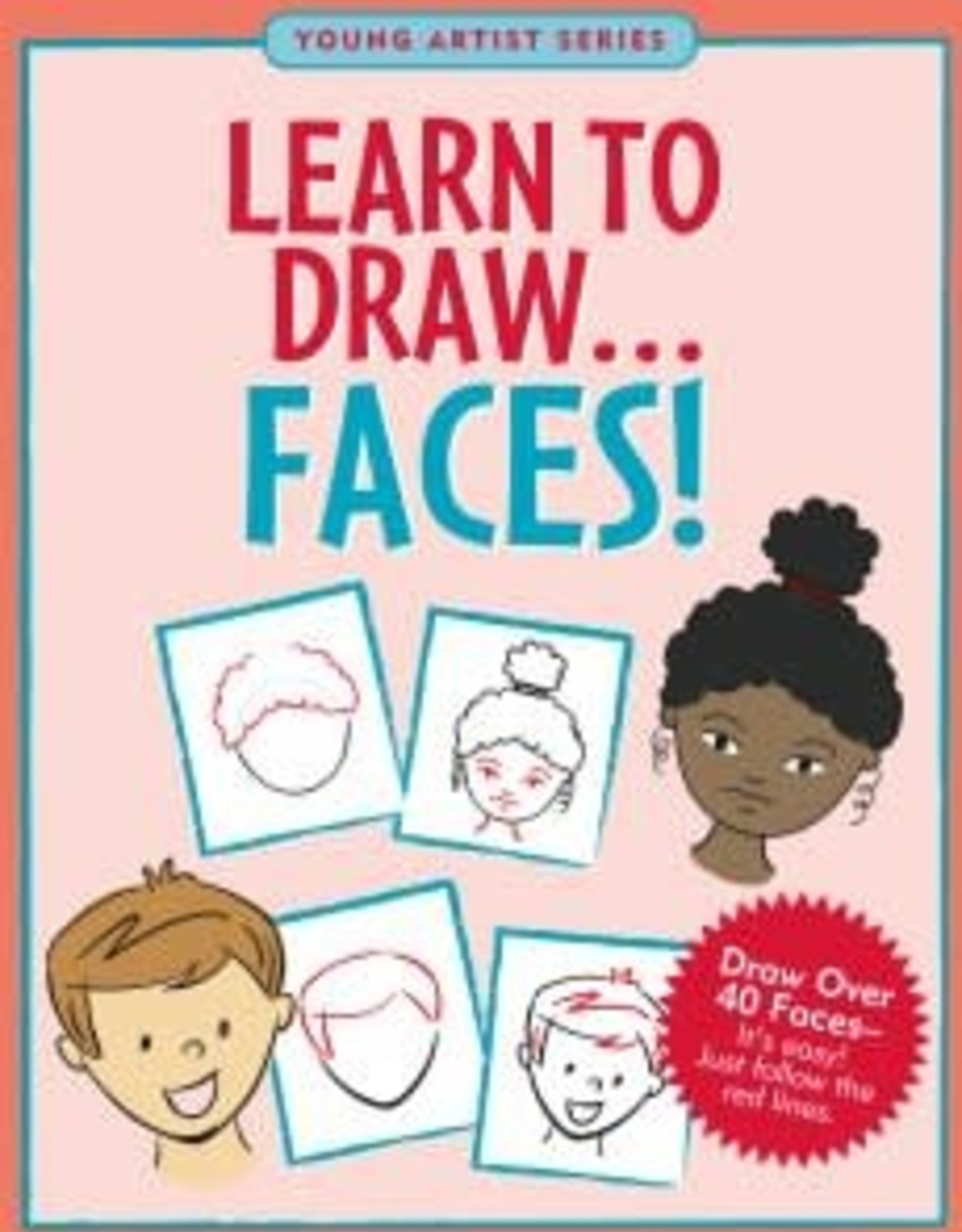 Peter Pauper Press LEARN TO DRAW FACES