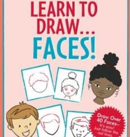 Peter Pauper Press Learn to Draw: Faces
