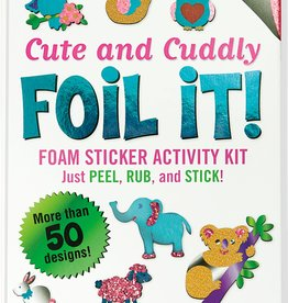 Peter Pauper Press Large Foil It! Cute & Cuddly
