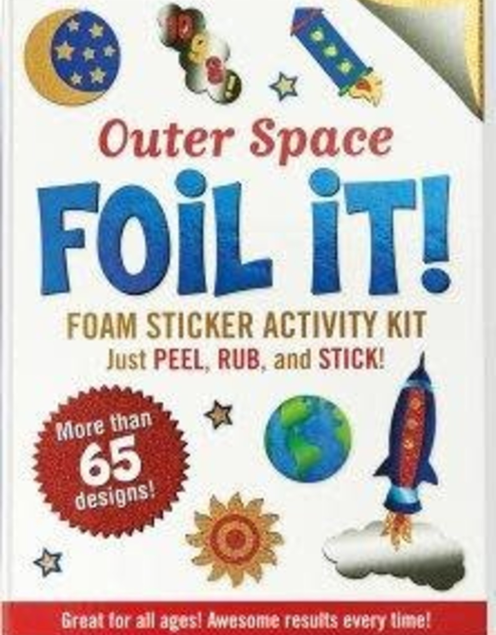 Peter Pauper Press Large Foil It! Outer Space