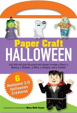 Peter Pauper Press Paper Craft Kit: Halloween