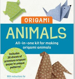 Peter Pauper Press ANIMAL ORIGAMI KIT