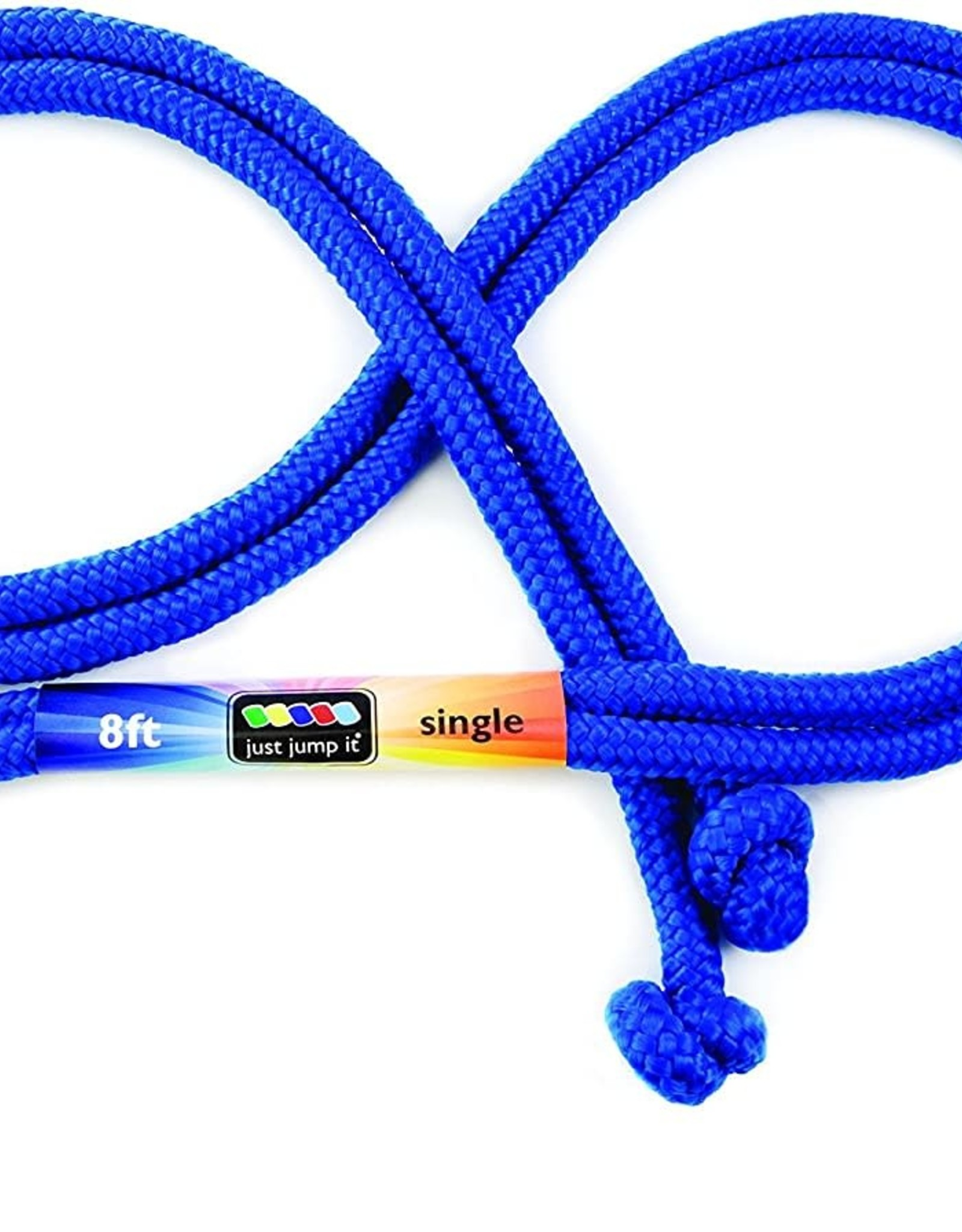 Just Jump It 8' Jump Rope Blue