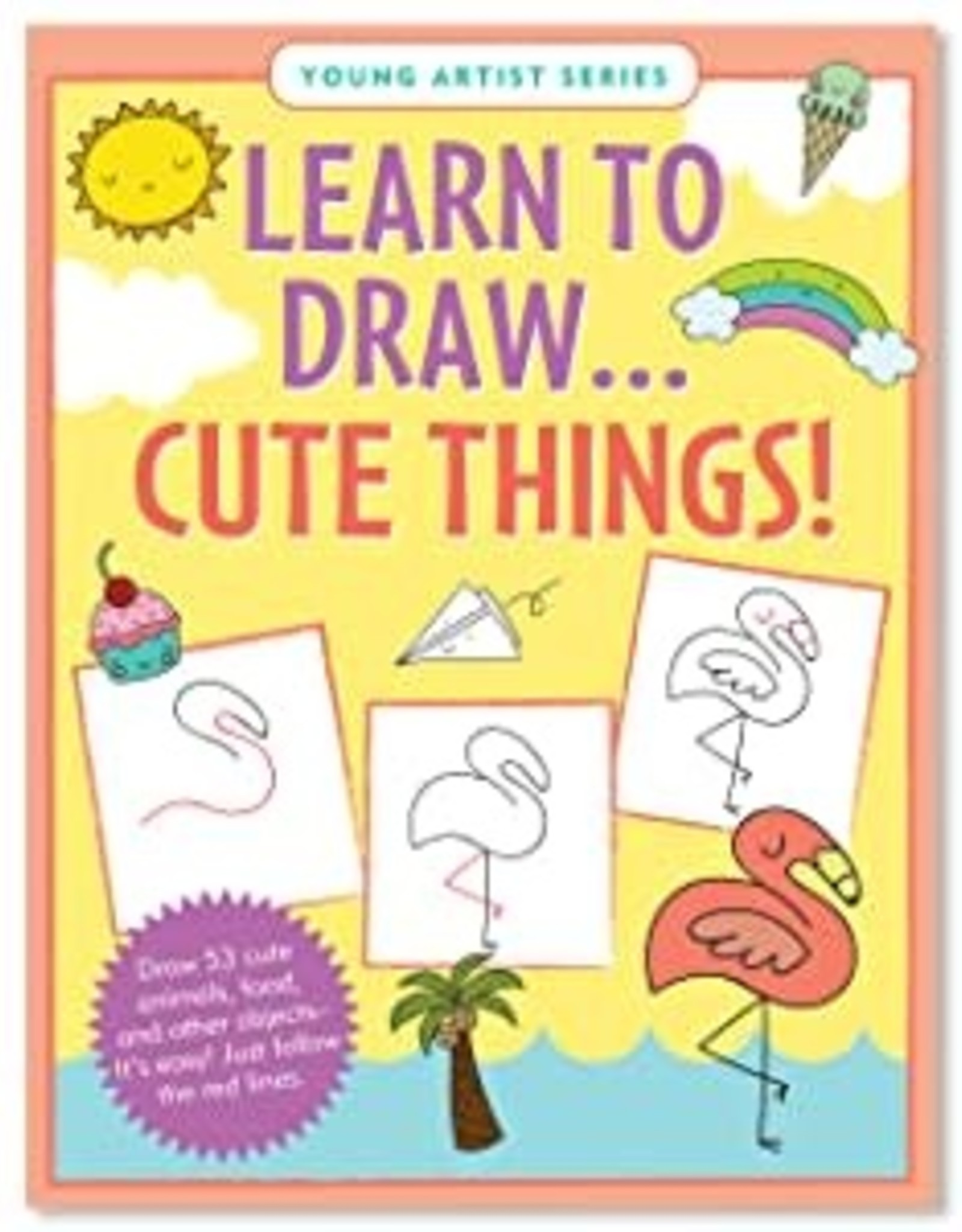 Peter Pauper Press Learn to Draw: Cute Things!