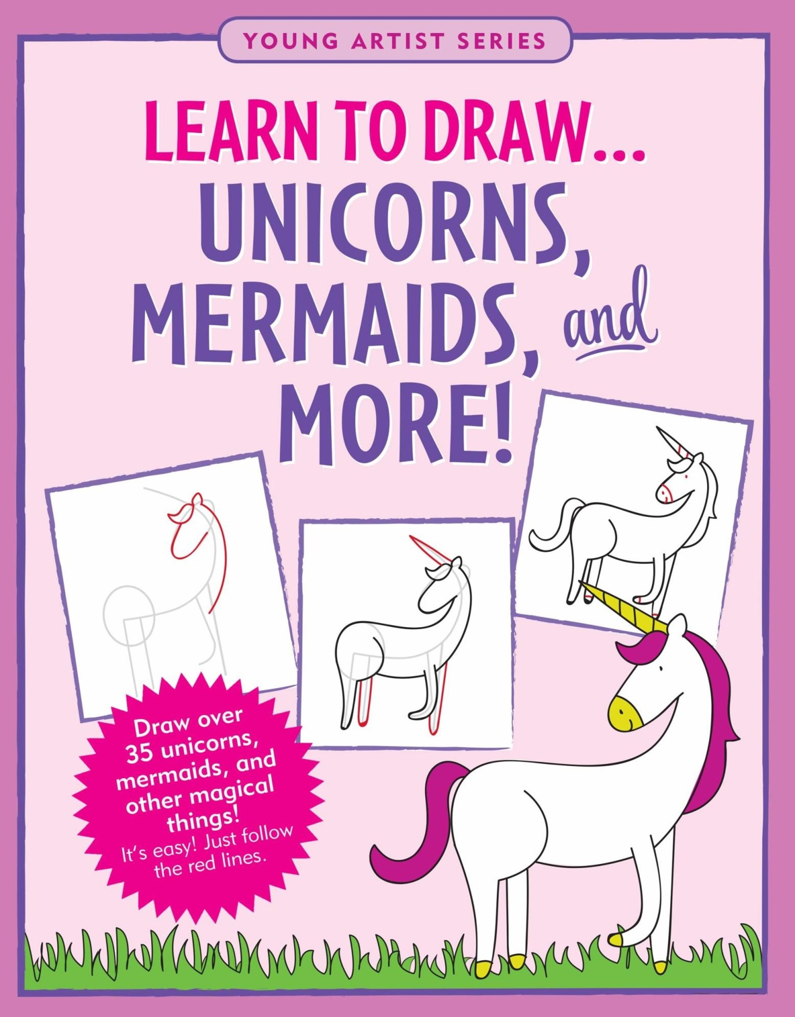Peter Pauper Press LEARN TO DRAW UNICORNS, MERMAIDS & MORE