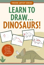 Peter Pauper Press Learn to Draw: Dinosaurs!
