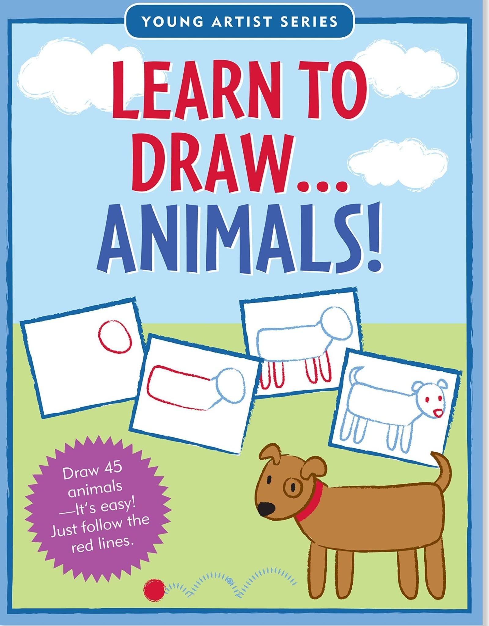 Peter Pauper Press Learn to Draw: Animals!