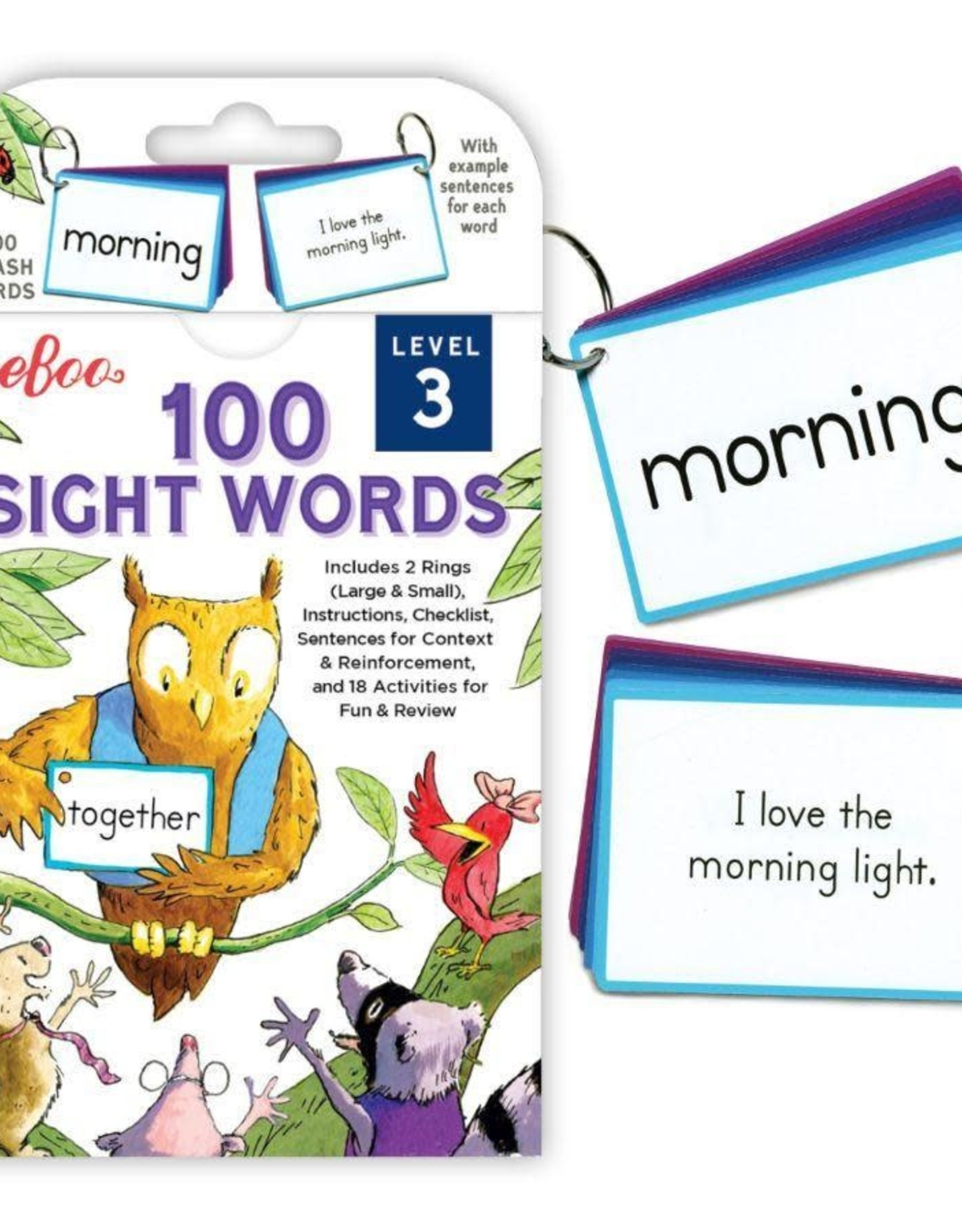 eeBoo SIGHT WORDS LEVEL 3