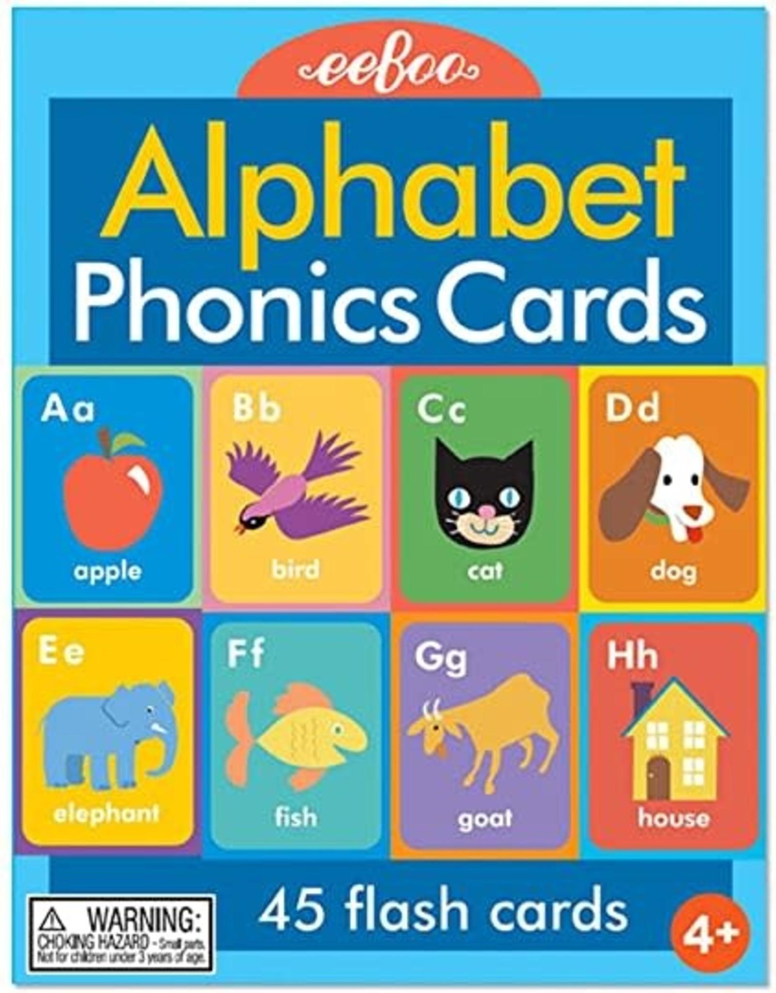 eeBoo LANGUAGE FLASH CARD ALPHABET & PHONICS