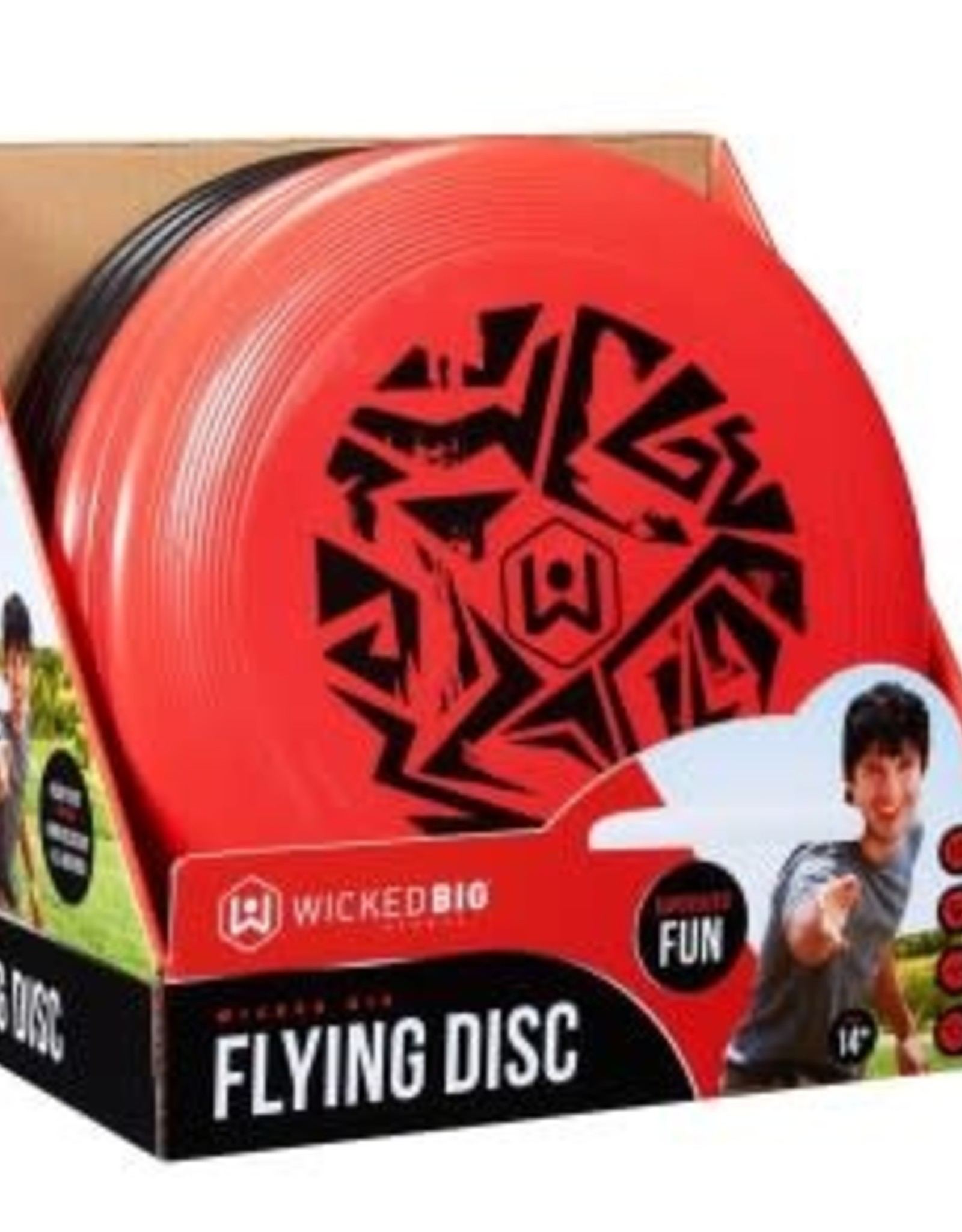 Wicked Big Sports Flying Disc