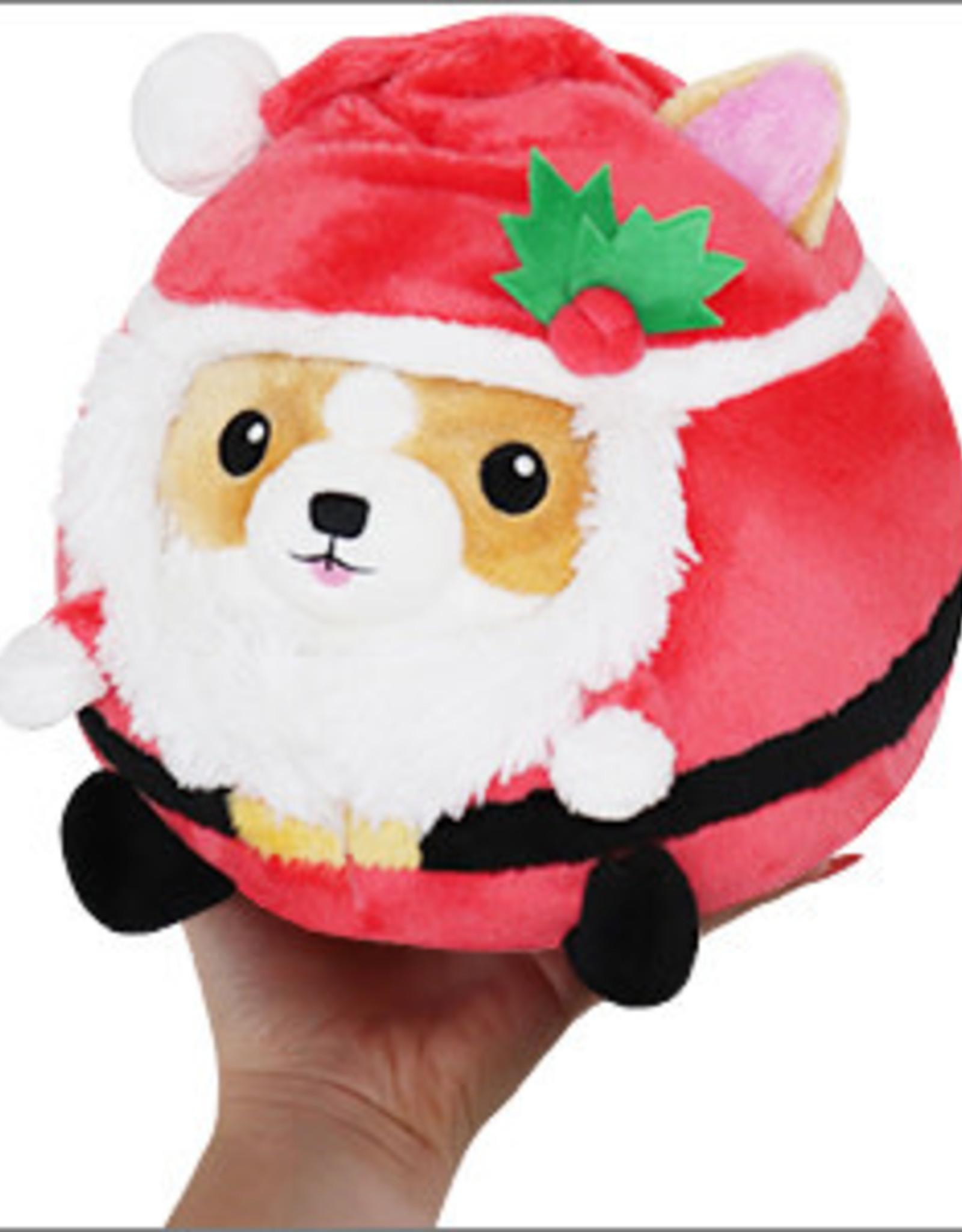 Squishable Undercover Corgi in Santa