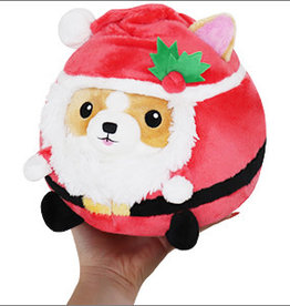 Squishable Undercover Corgi in Santa