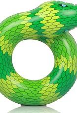 Like OMG! Green Snake Inflatable Coil Float