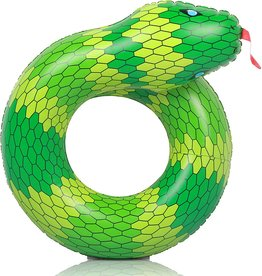 Like OMG! Green Snake Inflatable Coil Float