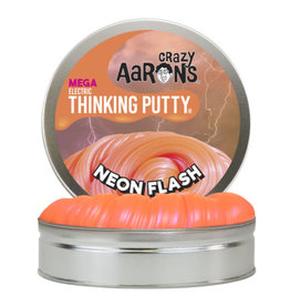 Crazy Aaron's Thinking Putty 1lb Large Tin of Neon Flash