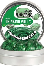 Crazy Aaron's Thinking Putty Persian Emerald Precious Gems