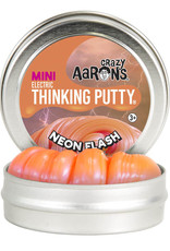 Crazy Aaron's Thinking Putty Small Tin - Neon Flash