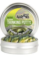 Crazy Aaron's Thinking Putty Small Tin - Super Oil Slick Super Illusion