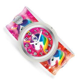 Watchitude Slap Watch - Rainbow Unicorns