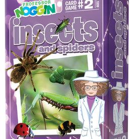 Professor Noggin Prof. Noggin Insects and Spiders