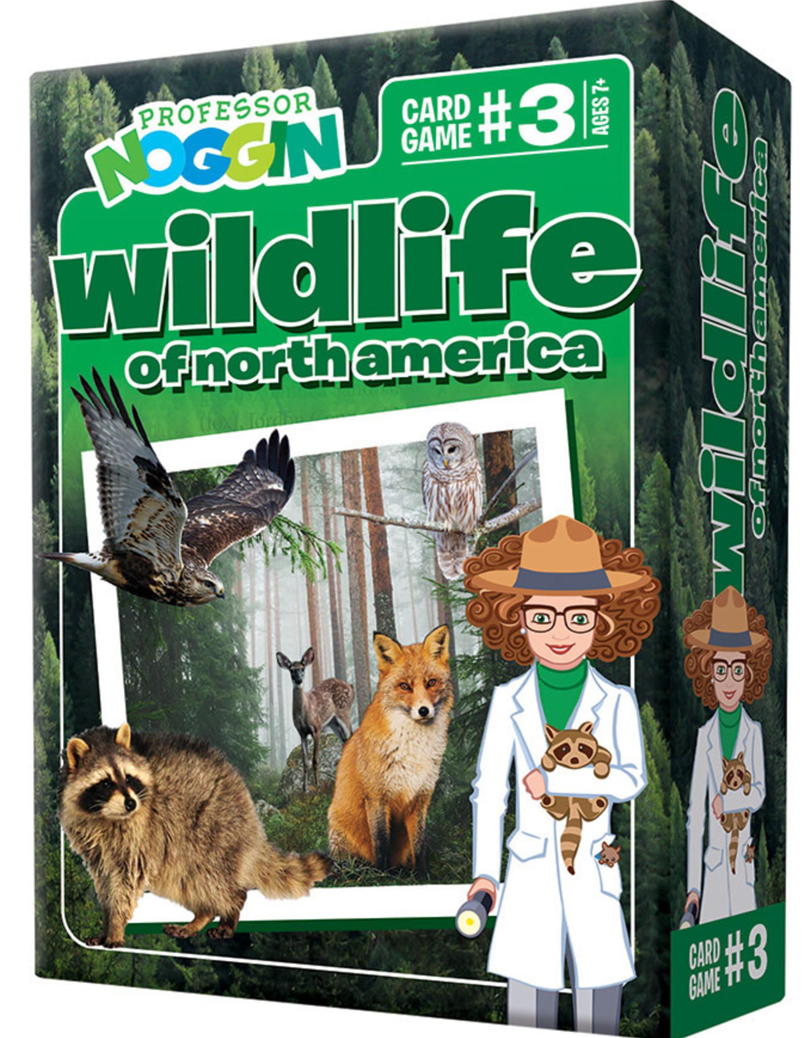 Professor Noggin Prof. Noggin Wildlife of North America