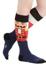 Sock It To Me WOMEN'S KNEE FUNKY: NUTCRACKER