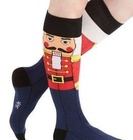 Sock It To Me WOMEN'S KNEE FUNKY: NUTCRACKER