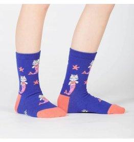 Sock It To Me JUNIOR CREW: PURRMAID