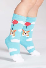 Sock It To Me TODDLER KNEE: PUP, PUP AND AWAY