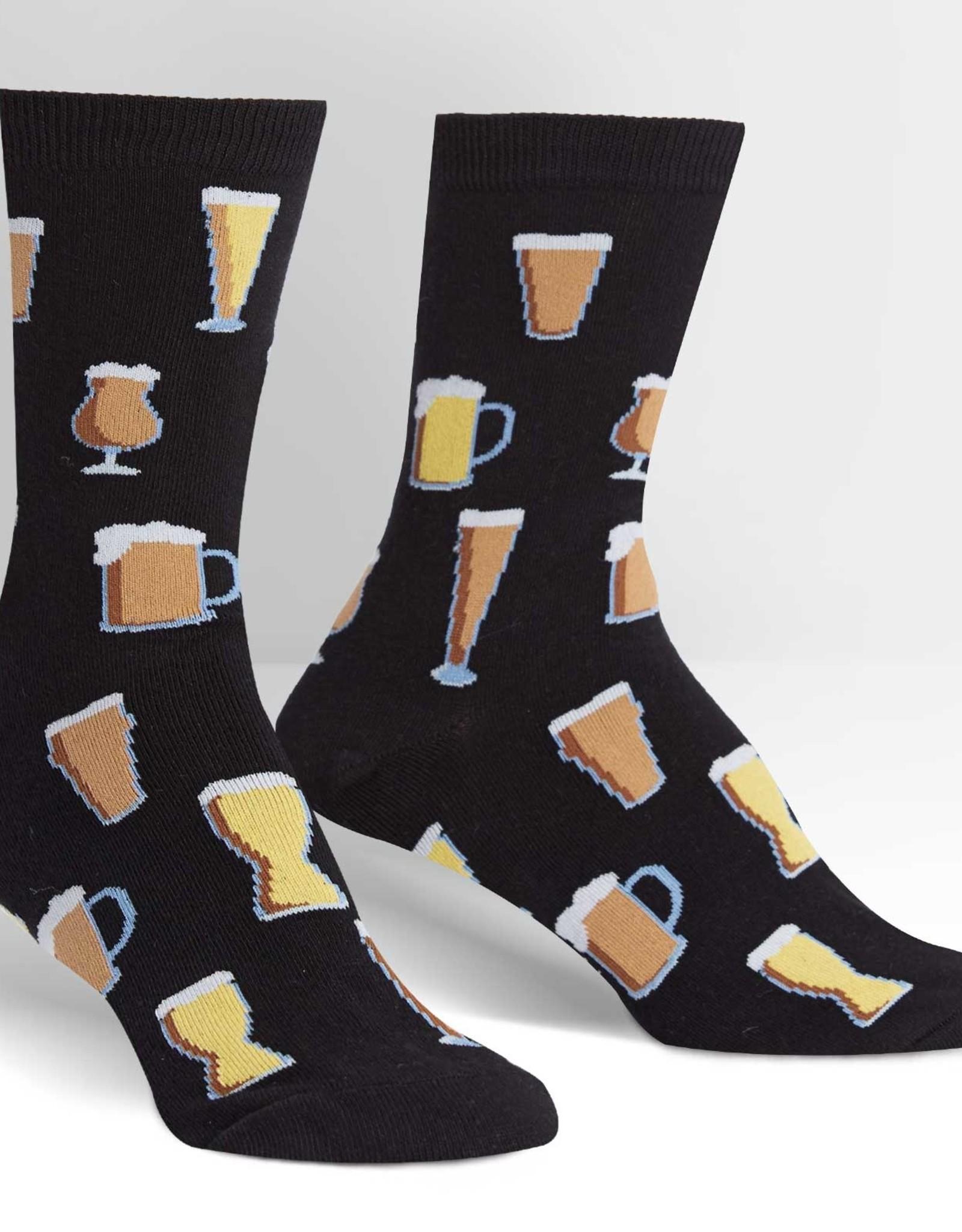 Sock It To Me MEN'S CREW: PROST!