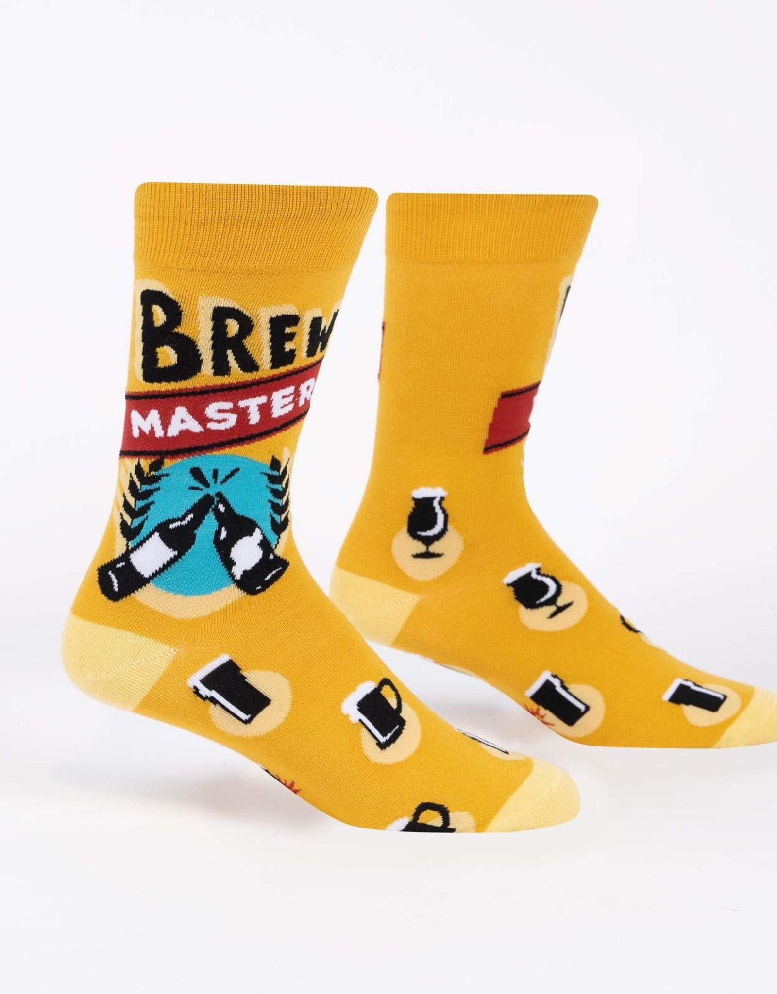 Sock It To Me MEN'S CREW: BREWMASTER