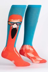 Sock It To Me KNEE HIGH FUNKY: READY TO FLAMINGLE