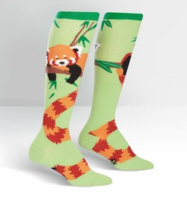 Sock It To Me KNEE HIGH FUNKY: TALE OF THE RED PANDA