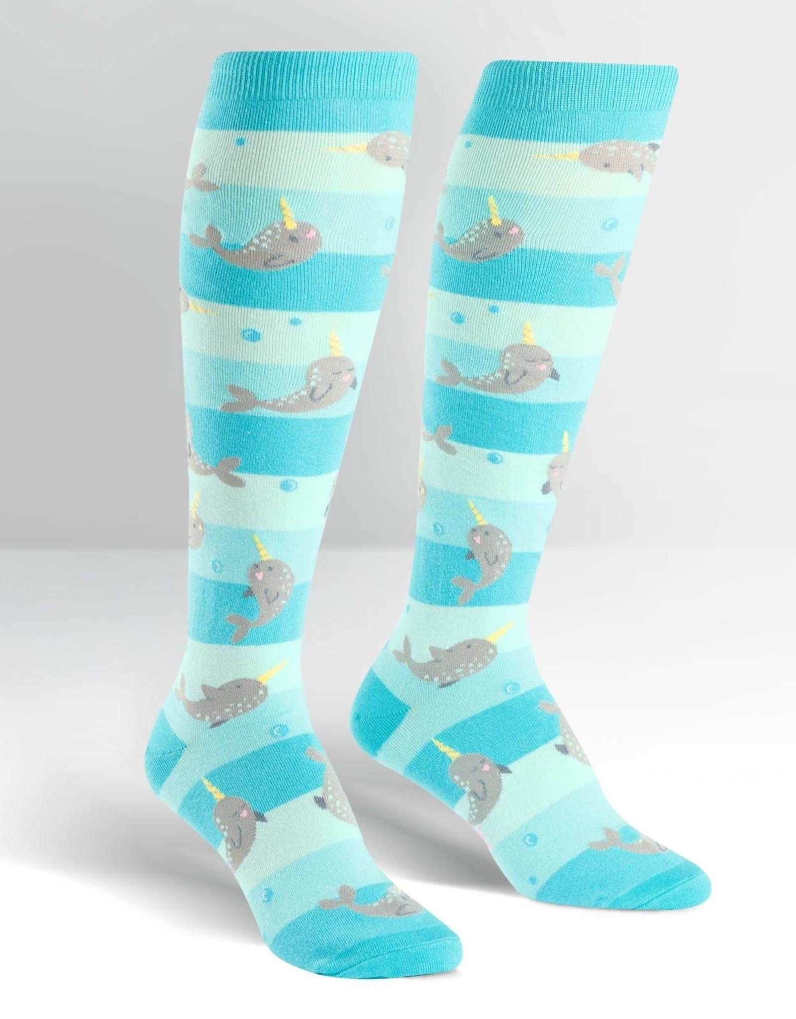 Sock It To Me WOMEN'S CREW: UNICORN OF THE SEA